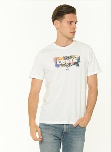 Levi's® Erkek Tişört Housemark Graphic 22489-0392 Renkli